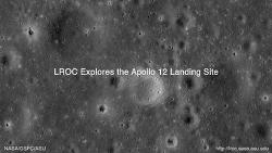아폴로 (Apollo) 12호의 착륙지 탐험 동영상