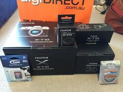 [FUJIFILM] 카메라 X-T10 + 35mm/F2 렌즈 Kit 구매기 및 개봉기