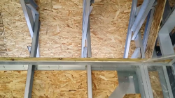 [제로열교] 경량구조 패시브하우스에서 트러스와 탑트랙 접합부위의 열교차단 솔루션 동영상