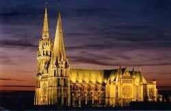 귀족과 종교의 대립, 샤르트르 대성당 (Chartres Cathedral)