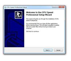 cpu 속도측정 프로그램