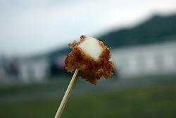 대만 단수이 여행중에 먹은 대왕오징어 튀김