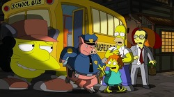 심슨가족(Simpsons), 지브리 스튜디오와 미야자키 하야오 헌정/오마주 씬.