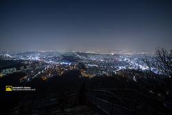 쌍둥이자리 유성우 대신 서울 시내야경 그리고 슈퍼문