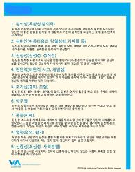VIA 강점진단, 가치진단 무료진단 소개