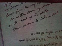 [스포일러] '거꾸로 된 파테마' 의 마지막 편지를 해독해보았다.