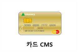 (자동이체)카드CMS
