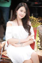 KOBA 2015 흰색드레스가 잘 어울리는 은하영 님 (6-PICS)