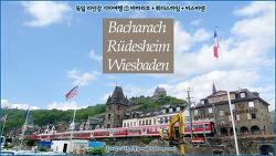 [독일 서부] 라인강 기차여행 ② 바하라흐 Bacharach, 뤼데스하임 Rüdesheim, 비스바덴 Wiesbaden /하늘연못