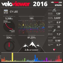 [자전거]2016년 결산/2017년 계획