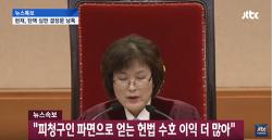 박근혜 파면. 요점정리. 이정미 권한대행 결정문 낭독 전체 영상 (전문)