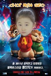 영화 포스터패러디만들기-앨빈과슈퍼밴드(Alvin And The Chipmunks, 2007)