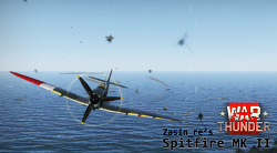 [War Thunder] Zasin_re's Spitfire MK II 플레이 뮤비