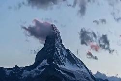알프스_'마터호른'의 아름다운 모습