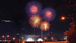 타임랩스로 보는 30초 불꽃축제