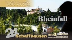 Rheinfall, Schaffhausen, Switzerland 라인폭포, 스위스 샤프하우젠