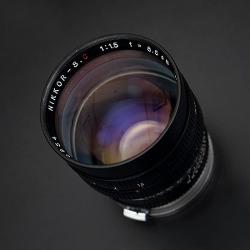 [Nikon] Nikkor-S.C 8.5cm F1.5