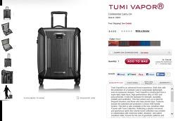 TUMI 20인치 여행가방 직구....