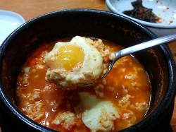 [부산 시청 앞] 똑쉐프의 32번째 맛집!!!남해맷돌 순두부!!!양념순두부