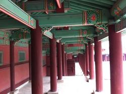 서울여행코스,경희궁,조선5대궁궐-흥화문,숭정전,자정전
