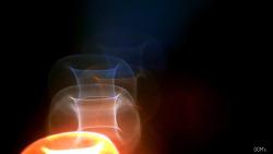 유리창 불빛에 새겨놓은…제18호 태풍 '차바'