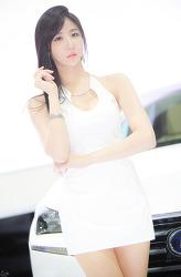 2014 부산국제모터쇼 렉서스 부스의 그녀 MODEL: 연다빈 (10-PICS)