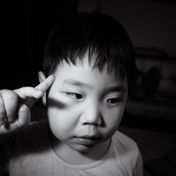[75개월] 후니 2호, 허니콤 그리드 디퓨저 사용해봄