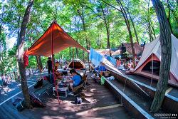 노자산 캠핑