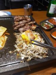 암사역 근처 천호동 육광 이베리코 돼지고기 맛있네요!