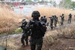 부후 382기 분대전투 훈련