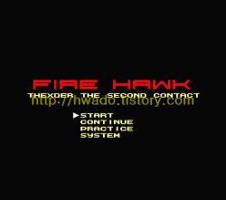 파이어 호크 - 테그저 2(Fire Hawk - Thexder - The Second Contact, ファイアーホーク テグザー2, 파이어 호크 - 덱스더 2) 릭스 바렌도프 토링가(Rieks Warendorp Torringa, リックスバレンドープトリンガ) 영문판