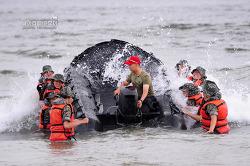 신병 1247기 1교육대 4주차 - 해상돌격훈련