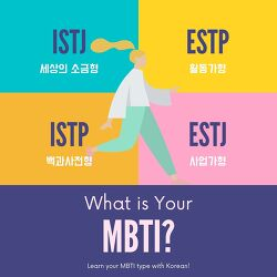 [Korean Class] What is your MBTI?⠀