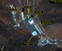 까마귀 날자 배떨어진다 스타일 38노쓰, 잭 리우 제니 타운 38 north ; North Korea's Tongchang-ri: Rebuilding Commences on Launch Pad and Engine Test Stand