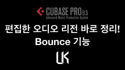 [Cubase Pro 9.5] 큐베이스 프로 9.5 강좌 #16 - Bounce Selection 기능 알아보기