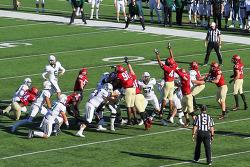 슈퍼볼(Super Bowl)은 아니지만 하버드(Harvard)와 다트머스(Dartmouth) 아이비리그 미식축구 관람