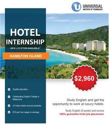 호주 호텔 인턴쉽 해밀턴아일랜드