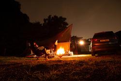 21th 캠핑스케치 - 초대형 풀장이 있는 용인하늘아래 캠핑장에서의 2박..