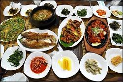 ( 해인사 근처 먹을만한곳 ) 산채정식-해인장 식당