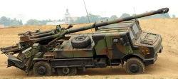 링크) 프랑스의 차륜형 155mm 자주포 세자르