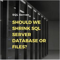 MSSQL에서 DB, LOG 축소 쿼리 / 공간 줄이기
