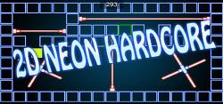 업적1500개의 2D 플랫포머 쿠소게임 Neon Hardcore