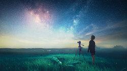 포토샵 합성 강좌 별이 빛나는 밤 (Photoshop Manipulation Tutorial Starry Night)