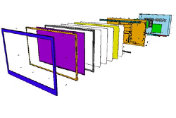 TV구조_LCM을 적용하는 구형 구조입니다.