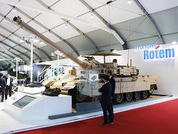 현대로템, ADEX 2019 참가, 주력무기 실물 전시