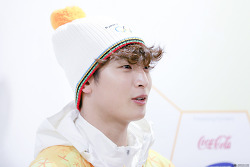 180114 정진운 2018 평창동계올림픽 성화봉송 직찍