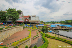 랏차부리(담넌 사두억 수상시장), 깐짜나부리(콰이강의 다리) 관광