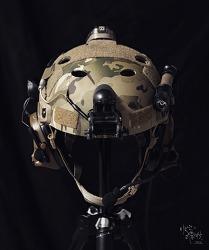 [Helmet] OPS CORE FAST carbon Front Velcro work.