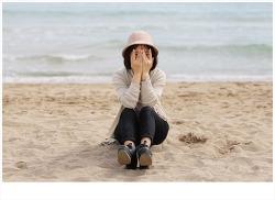 [받은사진] 부산 송정해수욕장에서 - 아이리스