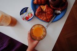독일이민준비 ② 숙소에서 먹은 음식/ 마트에서 장보기